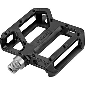 Xpedo TRVS Lockster Pedales, negro